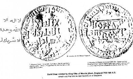 Inggris-mata uang kerajaan mercia inggris bertuliskan syahadat-ilustrasi-jpeg.image