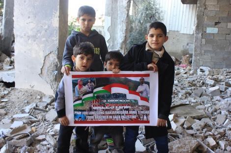 Gaza-Banjarnegara-Simpati dari Gaza untuk Banjarnegara-jpeg.image